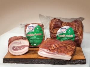 Pancetta Cotta Arrosto e Stufata Bacon